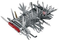 The Complete Swiss Army Knife