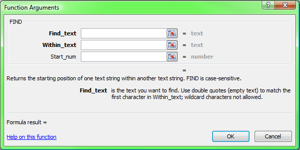 Excel function of the week - FIND and SEARCH   Spy Journal 3.0